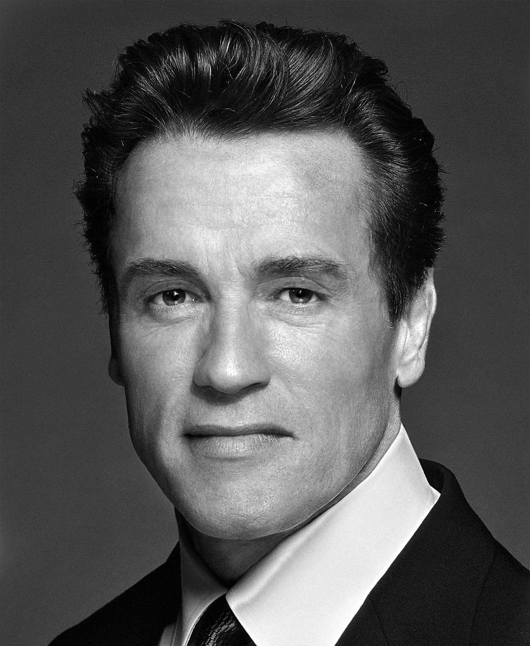 Photoshop Guru Fuses Celebrity Faces Together - Arnold Schwarzenegger and Sylvester Stallone