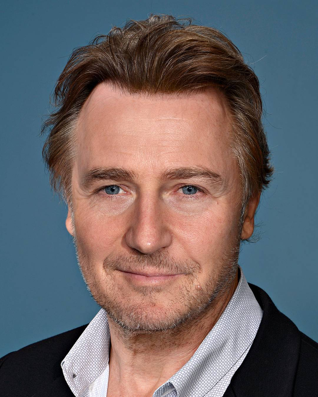 Photoshop Guru Fuses Celebrity Faces Together - Liam Neeson and Edward Norton