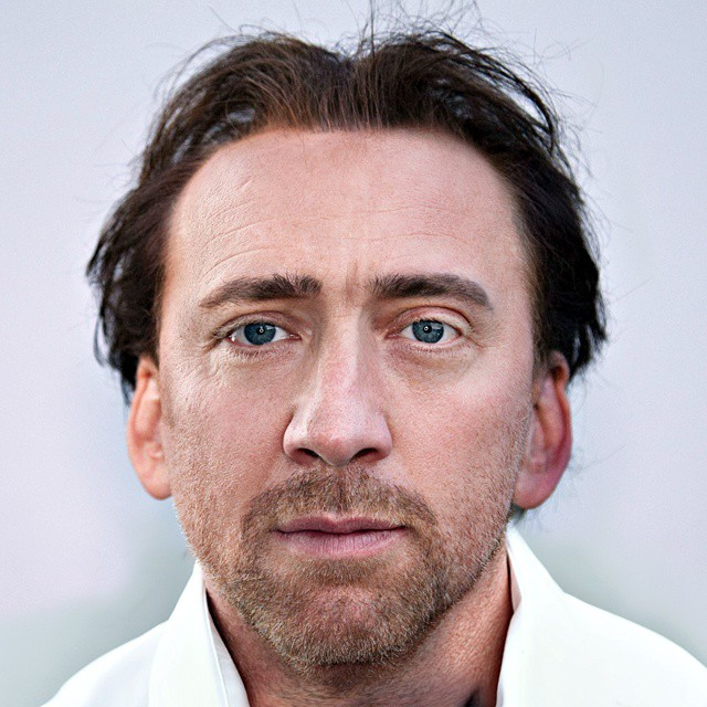 Photoshop Guru Fuses Celebrity Faces Together - Nicolas Cage and Boris Becker