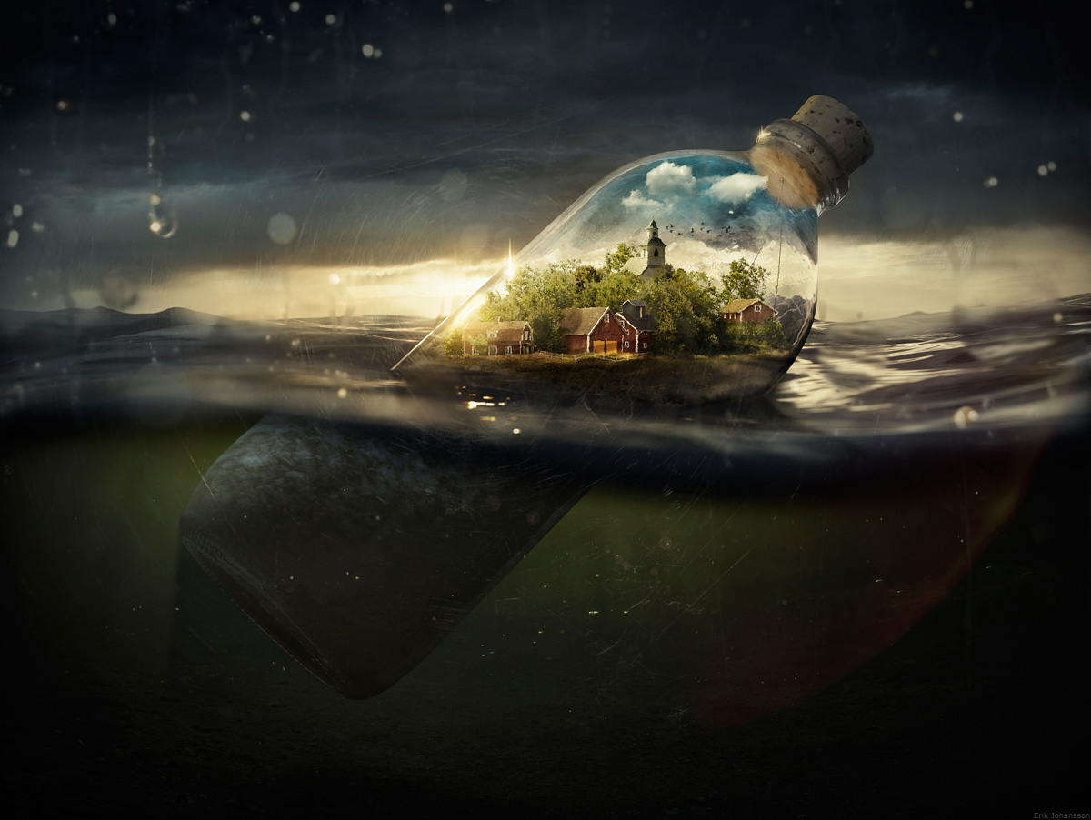 Erik Johansson Drifting a Way