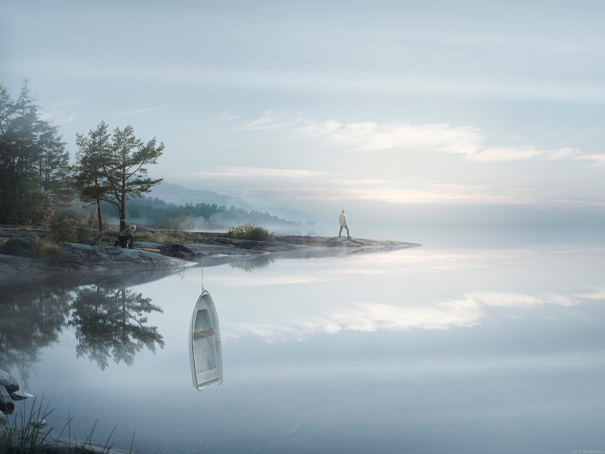 Erik Johansson Endless Reflections