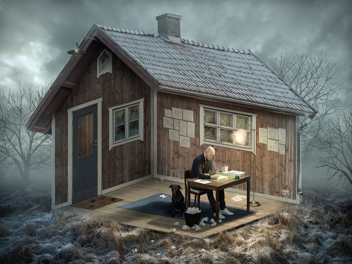 Erik Johansson The Architect