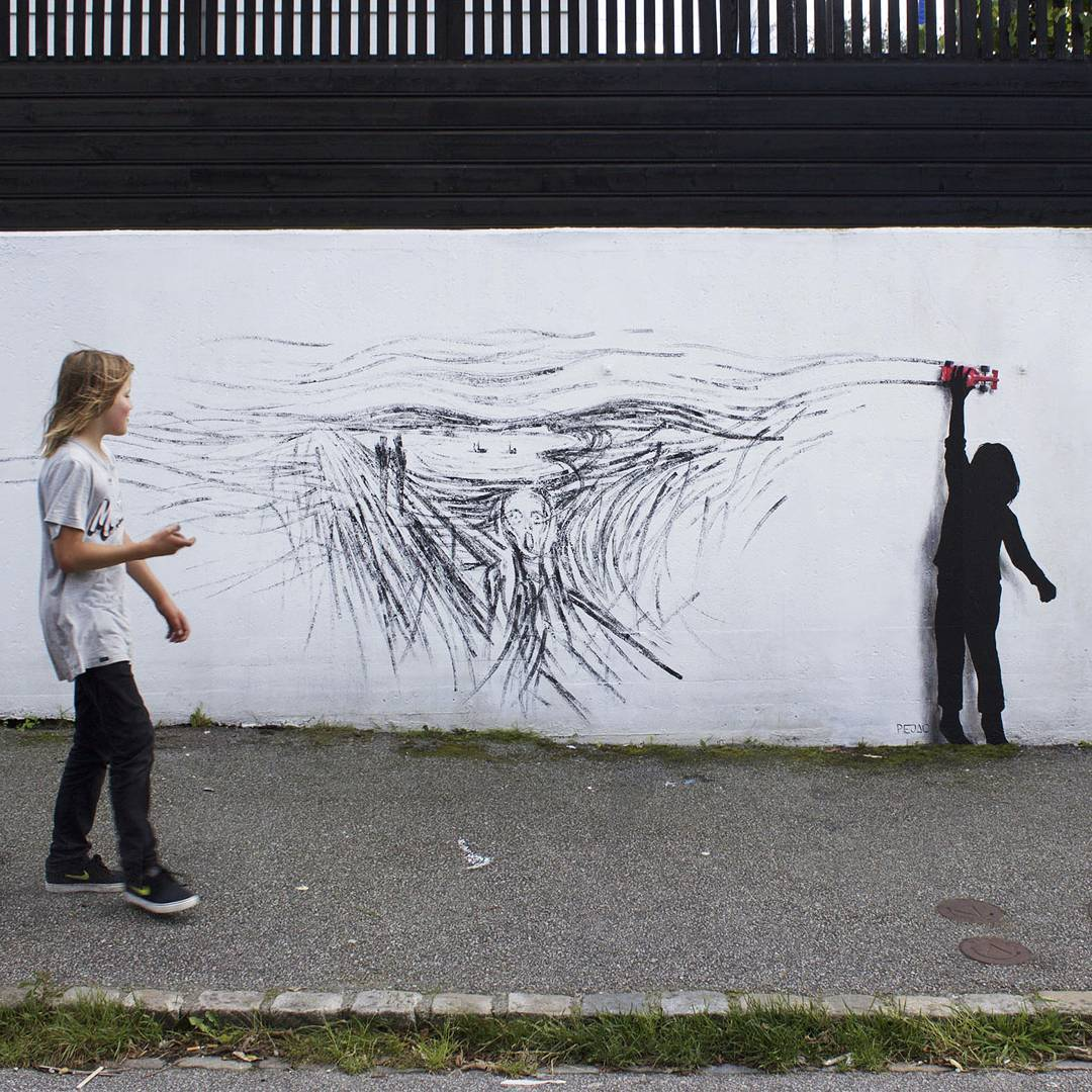Provocative Street Art from Pejac