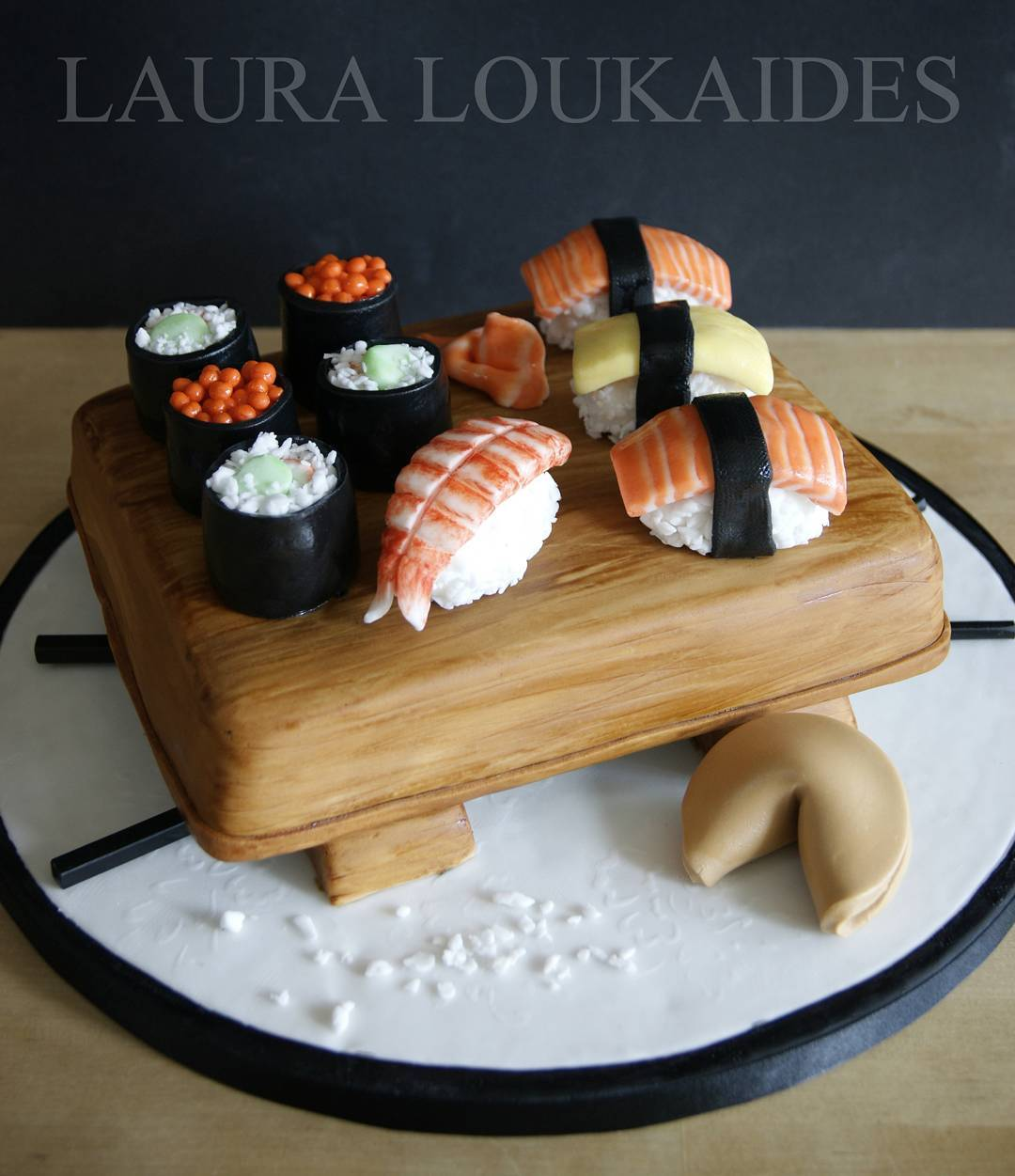 Junk Food Cake Designs by Laura Loukaides
