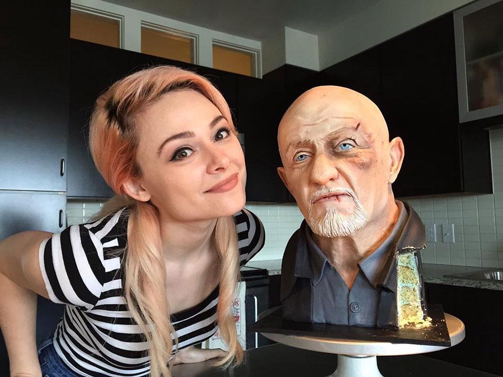 Hyper-Realisitic Cake Designer Natalie Sideserf