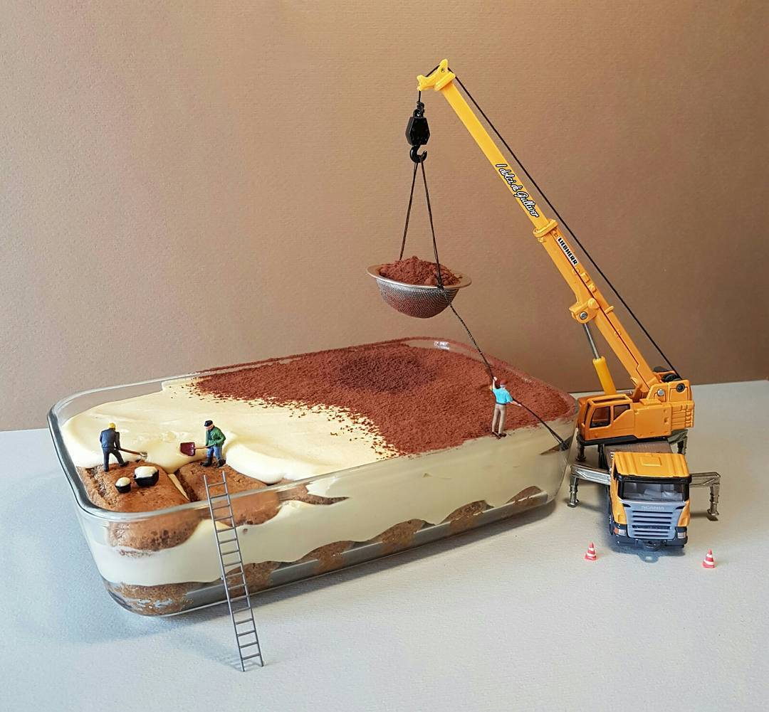 Matteo Stucchi Creates Miniature Worlds