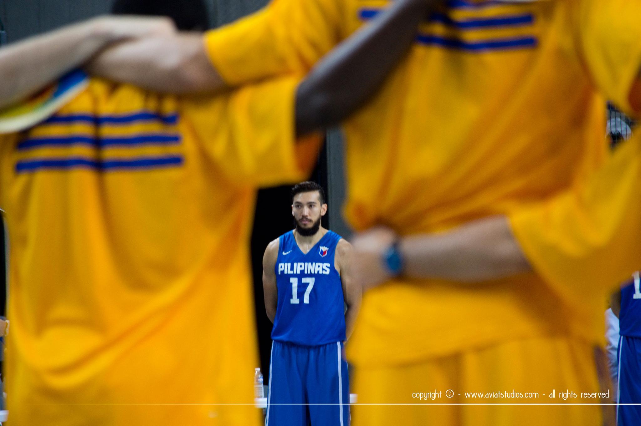 FIBA French Team Preparation Game Against Australia