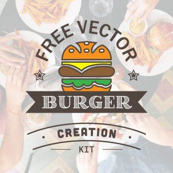 Free Vector Burger Creation Kit