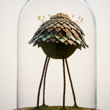 Mixed Media Floral Sculptures by Noreen Loh Hui Miun