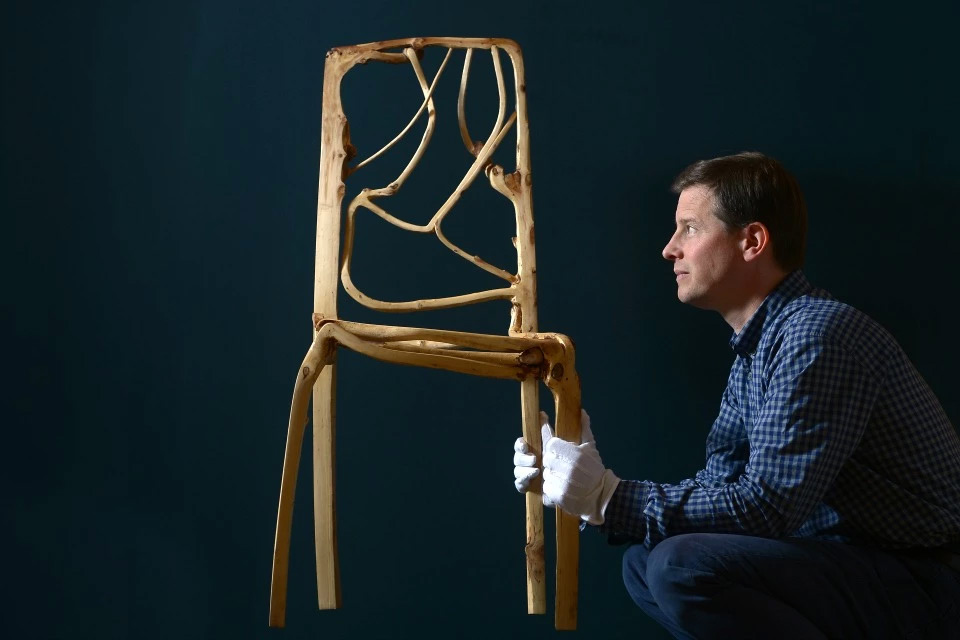 Trees Patiently Grown into Art and Furniture by Full Grown