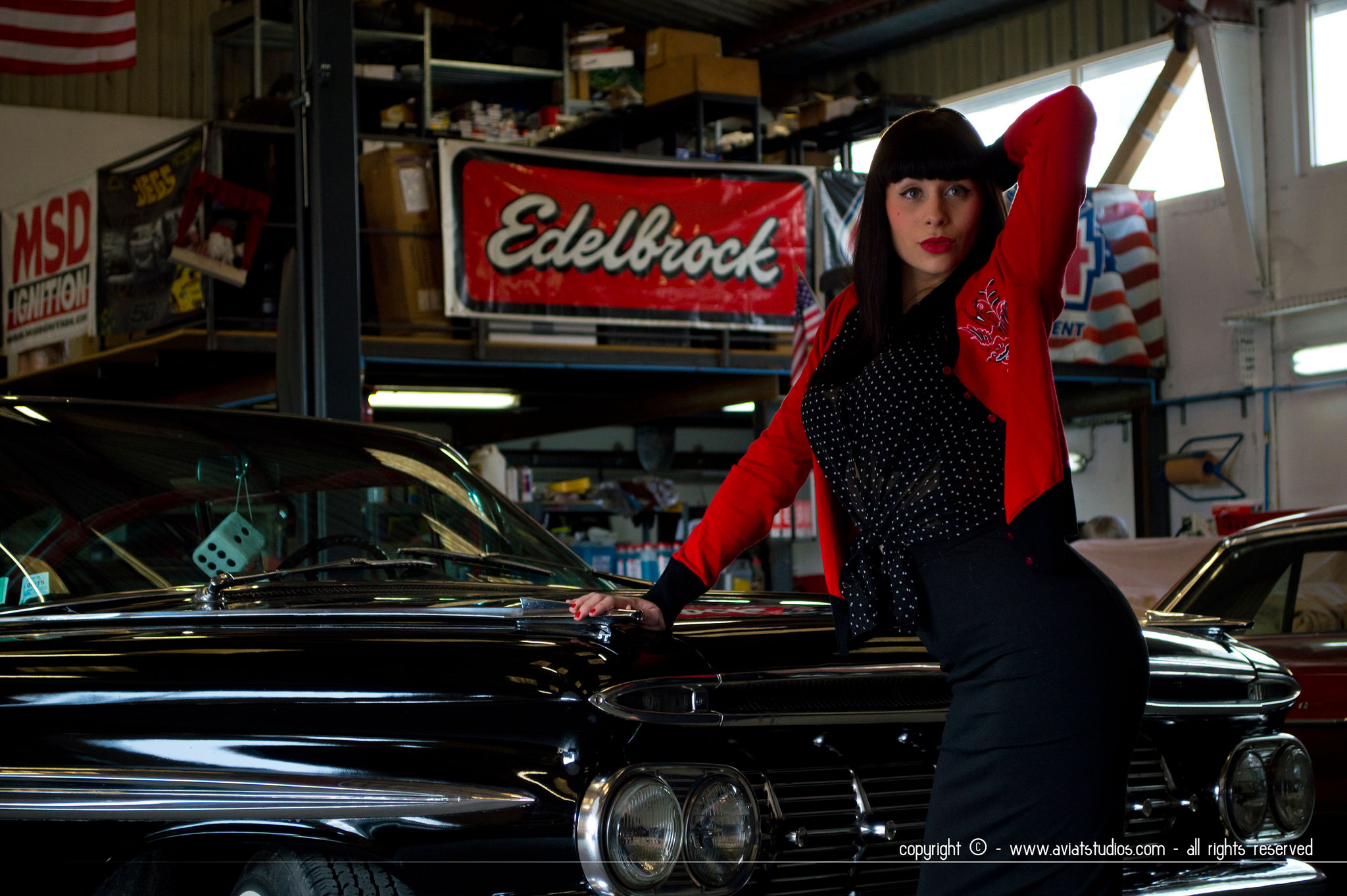 Vintage Cars + Pin-up - aviatstudios.com