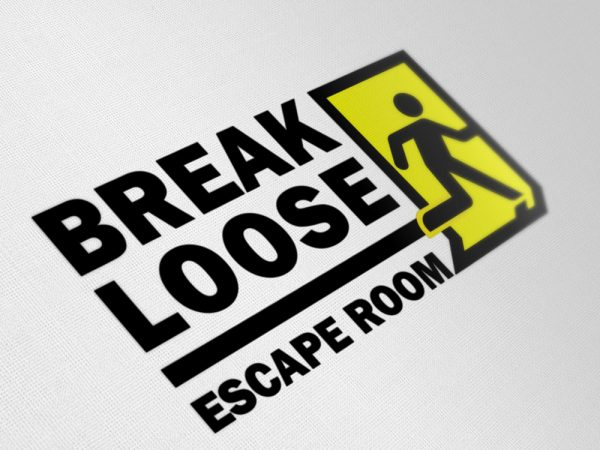 Logo Mockup - Break Loose Escape Room