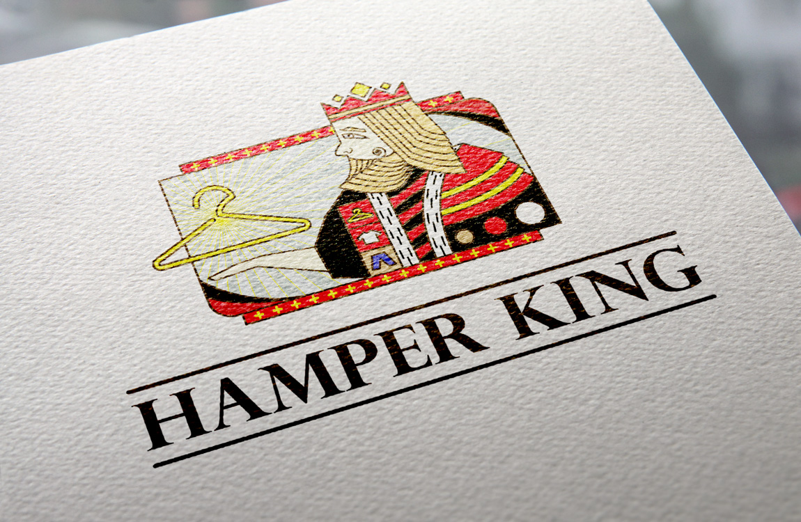 Logo Mockup - Hamper King