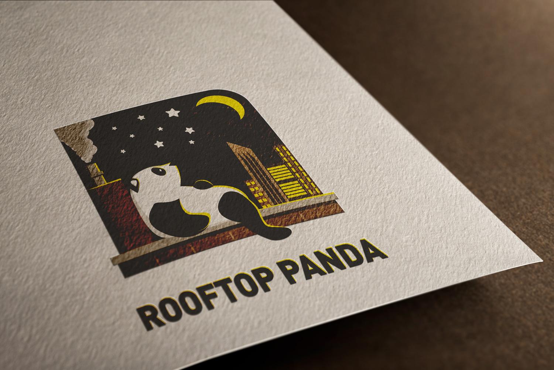 Logo Mockup - Rooftop Panda