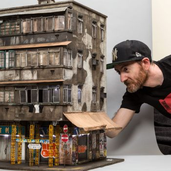 Miniature Contemporary Urban Buildings by Joshua Smith