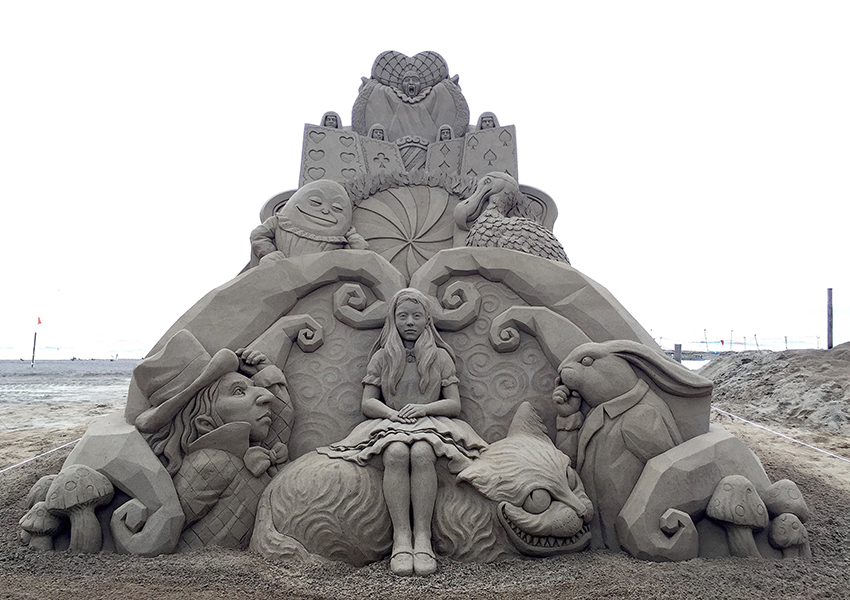 Incredible Sand Sculptures by Toshihiko Hosaka